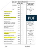Ewf97 Operating Procedures Log Rev 22