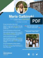 Maria Galbinski - University of Liverpool