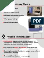 Immunoassay Theory