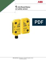 Eden DYN Info Reset Status Manual en ABB 2TLC172271M0201 Rev C