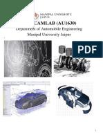 FEA Lab report