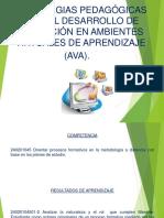 Estrategias Pedagogicas Para El Desarrollo de Formacion de Ava