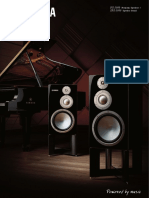 Yamaha NS-5000 speakers brochure