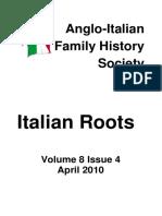 Italian Roots April 2010