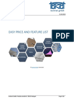 Prices of easy software