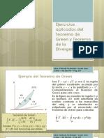 Teorema de Green y Teorema de la divergencia