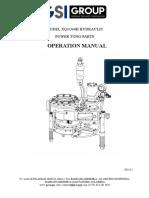 Manual Operation XQ114-6B