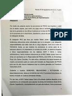 Denuncia contra Rafael Juárez Carro