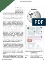 Wikipedia - Wikipedia, La Enciclopedia Libre