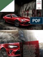 Catálogo GT86
