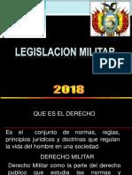 Legislacion Mil - 2018