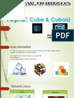 Cube & Cuboid
