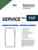Sm-A305f Svc Manual