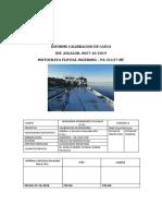 Informe Calibracion de Casco