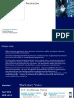 BPM and BAW Roadmap April 2019
