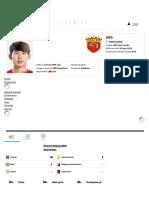 Shiyuan Yang - Profilo Giocatore 2019 _ Transfermarkt