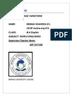 Fairclough model