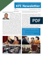News Letter KFI Vol 5 2012