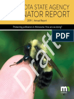 Draft Pollinator Report
