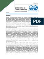 Transporte de Propantes en Redes de Fracturas Complejas