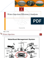 Water Injection Efficiency Analysis
