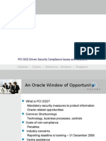 Window of Opportunity - PCI DSS Briefing External
