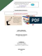 Dossier Bibliográfico de Alf. Académica (2018)