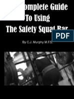 The Complete Guide to Using Safety Squat Bar