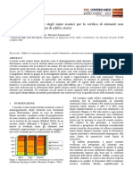 Studies for the definition of seismic input for non-structural elements inside historical buildings