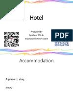 Hotel Flashcards