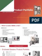 Enclosed Product Portafolio 2019