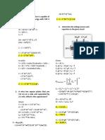 Sample Problem in Capacitors