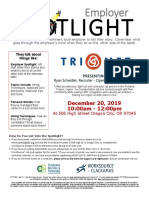 Employer Spotlight December 2019