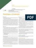 psicología y ortodoncia