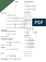 Fórmulas de Control Ambiental Minas
