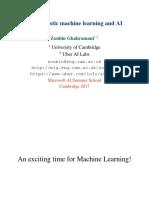 Ghahramani Probabilistic Method
