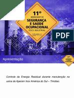 Controle Da Energia Residual Durante Manutencao Na Usina Da Aperam Inox America Do Sul Timoteo(1)