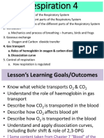 Respiration Lecture 4