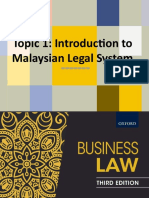 Topic 1 Malaysian Legal System.ppt