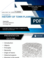 history of town planning