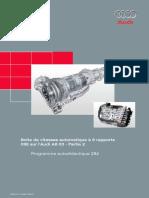 SSP 284 Partie 1 Boîte de Vitesse Automatique à 6 Rapports 09E Sur l'Audi A8 03