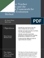 standards presentation garretwerry