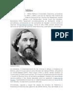 Biografia Bartolomé Mitre