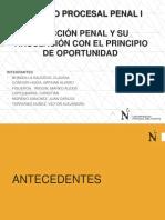 La Accion Penal y su vinculacion con el Principio de Oportunidad - Diapositivas.ppt