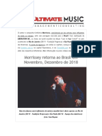 Morrissey no Brasil