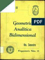 Geometría Analítica Bidimensional