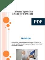 Enfermedad Hipertensiva inducida en el embarazo.