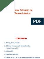 Primer Principio Termodinámica
