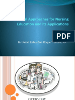 Philosophical Approaches for Nursing Education and Its Applications