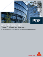 General Guideline Sikasil Weather Sealants V2
